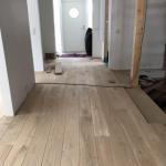 Oak flooring, rustik