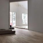 Oak flooring, rustik.