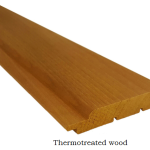 Thermotreated wood